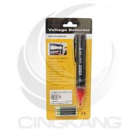 非接觸驗電筆 VD03 50~1000VAC 有蜂嗚/會亮燈(含電池)