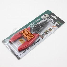 Pro'sKit 寶工 CP-415 強力剪剝壓線鉗