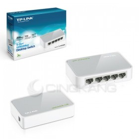 TP-Link TL-SF1005D 節能型5埠10/100Mbps網路交換器