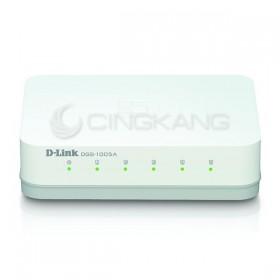 D-LINK DES-1005A 5埠 10/100節能型交換器