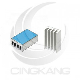 3M-8810 小型 鋁製散熱片 20x13x7mm