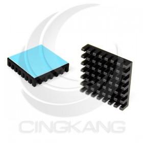 3M-8810 薄型 導熱片 散熱片(黑) 27x27x7mm