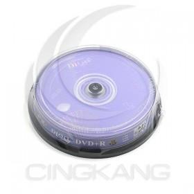 DIOO 海洋 光碟燒錄片 DVD+R 10入/筒 (CD/DVD)
