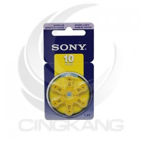 SONY 空氣助聽器電池 PR70(10) (6入/卡)