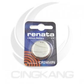 瑞士 renata 鈕扣電池 CR2450N 3V 電動玩具 計算機 碼表 遙控器