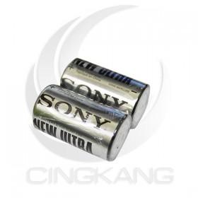 SONY 碳鋅電池 1號(2入)