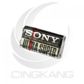 SONY 碳鋅電池 9V