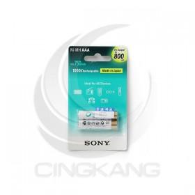 SONY低自放充電電池 4號(2入) 800mAh