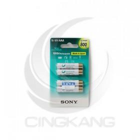 SONY低自放充電電池 4號(4入) 800mAh