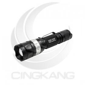 美國CREE 10W充電6段式T6 LED手電筒 單支(T614)