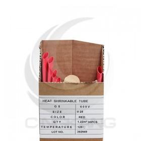 熱縮套/熱縮管/熱收縮套 紅/厚 G5 25.0 1.22M