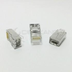 台製 CAT5e 鐵殼 單件式 50u (100PCS/包)