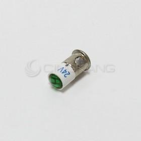 BA6S-A型 LED燈 24V- 綠色