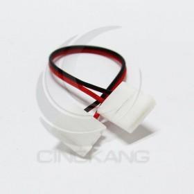 5050 單色燈條專用雙邊夾頭帶線 線長17CM