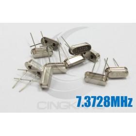 49S型無源晶振 7.3728MHz(10入)