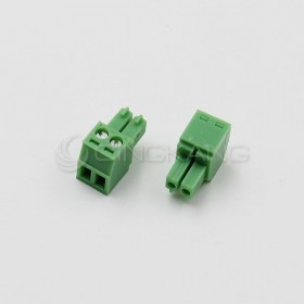 PCB 3.5-2P 端子台(母) 8A 300VAC (2入)