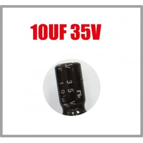 一般電容 10UF 35V 5*11 (10顆入)