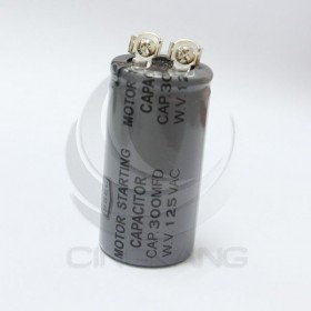 起動電容 300UF 125V 鎖螺絲