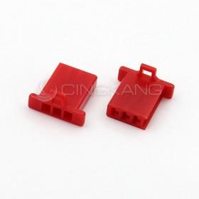 110型連接器-3P 2.80mm  公頭  紅色(20入)