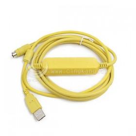 USBACAB230 DVP EH/ES/EX系列PLC編程電纜2.5M