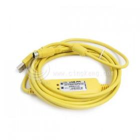 USB-SC09-FX PLC 程式設計電纜 線長2.5M-副廠