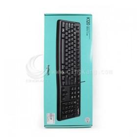 LOGITECH 羅技 K120 有線鍵盤(USB)