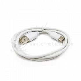 USB3.1 Type-C- 2.0 A公傳輸線1米 白色(US-170-2)