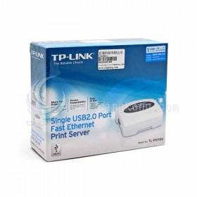 TP-LINK USB2.0 TL-PS110U連接埠快速乙太網路列印伺服器