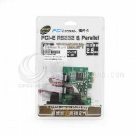 伽利略 PETR02A 2埠 PCI-E RS232擴充卡(2埠)
