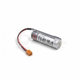 TOSHIBA PLC一次鋰電 ER6V /3.6V (含線帶11號咖啡殼接頭)