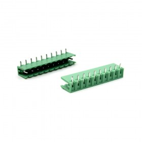 PCB5.08-10P 接線端子 公 90度 (2入)