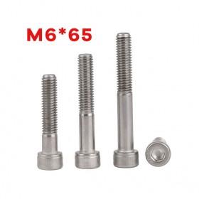 白鐵窩頭內六角螺絲 M6*65 (10pcs/包)