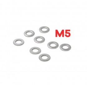 白鐵華司 M5 (5*12*1T) (10pcs/包)