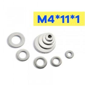 不鏽鋼墊片 M4*11*1 (10pcs/包)