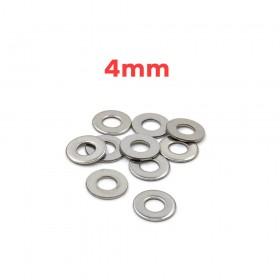白鐵華司 4mm(4.5*9.5*0.8t) (10pcs/包)