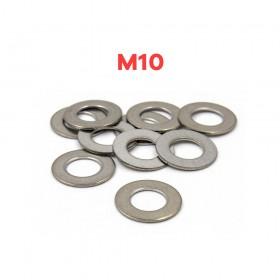 白鐵華司 M10 (10*19*1t) (10pcs/包)