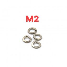 白鐵彈簧華司 M2 (10pcs/包)