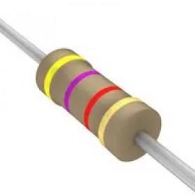 碳膜電阻 1/4W  4.7Ω