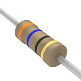 碳膜電阻 1/4W 36Ω ±5%