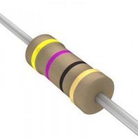 碳膜電阻 1/4W 47Ω ±5%