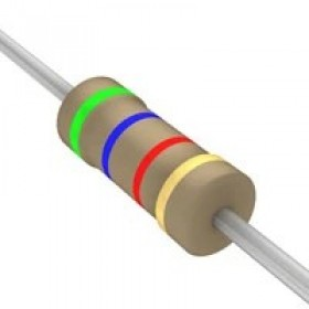 碳膜電阻 1/4W 5.6K ±5%