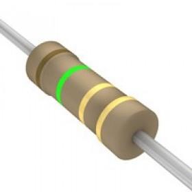 碳膜電阻 1/2W 1.5Ω  ±5%