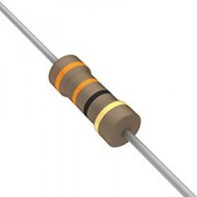 碳膜電阻 1/2W 33Ω  ±5%