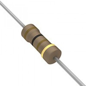 碳膜電阻 1/2W 100Ω  ±5%