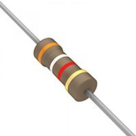 碳膜電阻 1/2W 3.9K  ±5%