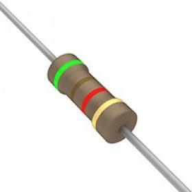 碳膜電阻 1/2W 5.1K  ±5%