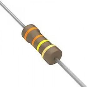 碳膜電阻 1/2W 330K  ±5%