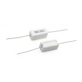 陶瓷水泥電阻 臥式 5W 0.5Ω (5PCS/包)