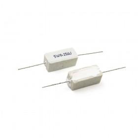 陶瓷水泥電阻 臥式 5W 0.25Ω (5PCS/入)