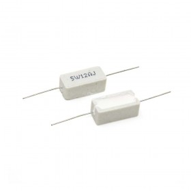 陶瓷水泥電阻 臥式 5W 12Ω (5PCS/入)